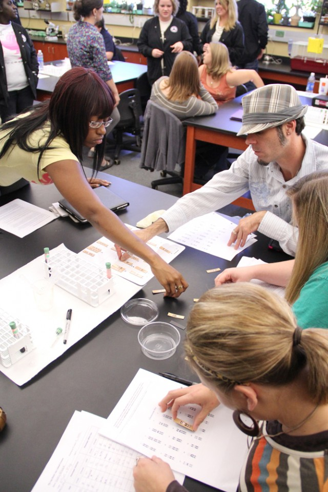 Nursing students partner with theatre, genetics students