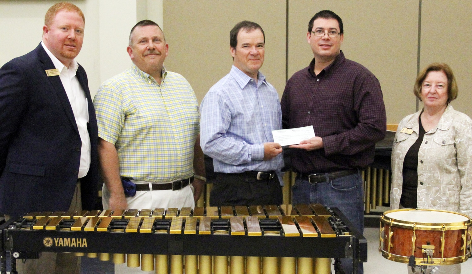 SAU Band gets $2,000 from Plum Creek Foundation Grant